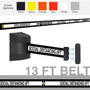 Social Distancing Magnetic Wall Mounted Retractable Belt Barrier 13 Foot Belt | Free Shipping