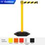 Safety Retractable Belt Barrier | Weather Master 7.5 / 11 / 13 Ft Stanchion Belts