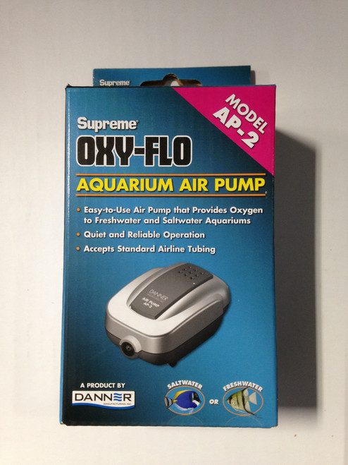 Air Pump Model AP-2 Supreme Oxy-Flo