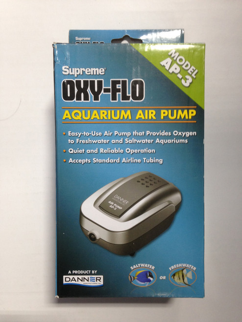 Air Pump Model AP-3 Supreme Oxy-Flo