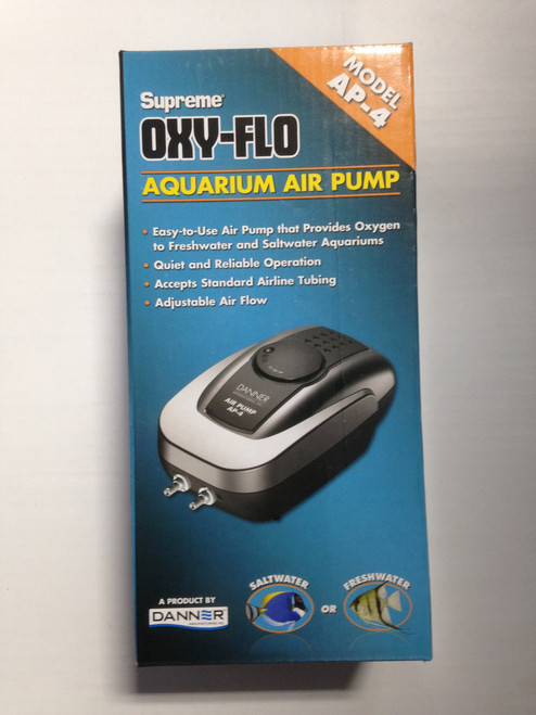 Air Pump Model AP-4 Supreme Oxy-Flo