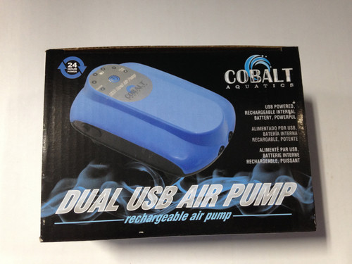 Air Pump DC USB Dual Rechargeable