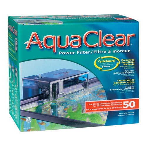 Aquaclear  50 Power Filter w/ Media