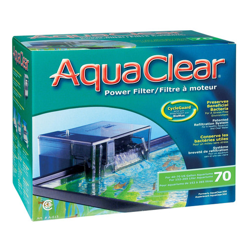Aquaclear  70 Power Filter w/ Media