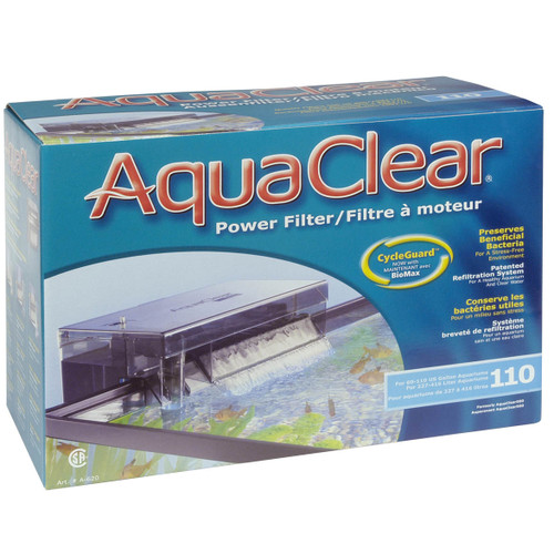 Aquaclear  110 Power Filter w/ Media