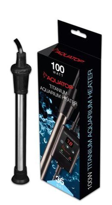 Aquatop Titanium Heater w/ Controller 100W