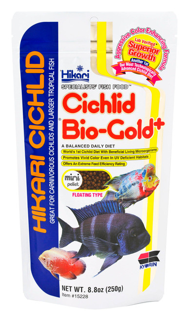 Hikari Cichlid Bio-Gold Pellets