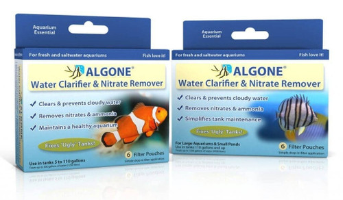 Algone Water Clarifier and Nitrate Remover