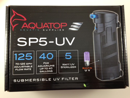 Aquatop UV Sterilizer SP5-UV Submersible Filter
