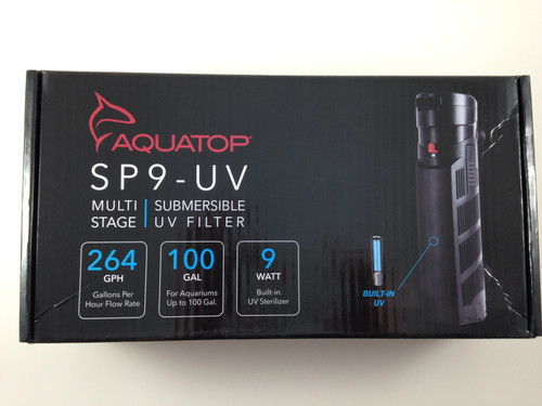 Aquatop UV Sterilizer SP9-UV Submersible Filter