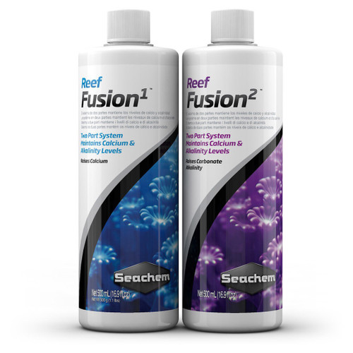 Seachem Reef Fusion Two Part Calcium and Alkalinity Supplement