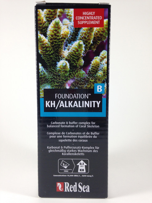 "Red Sea Foundation Liquid ""B"" KH/Alkalinity Supplement"