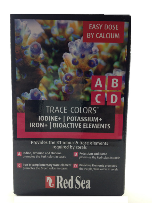Red Sea Trace Colors A,B,C,D Supplement