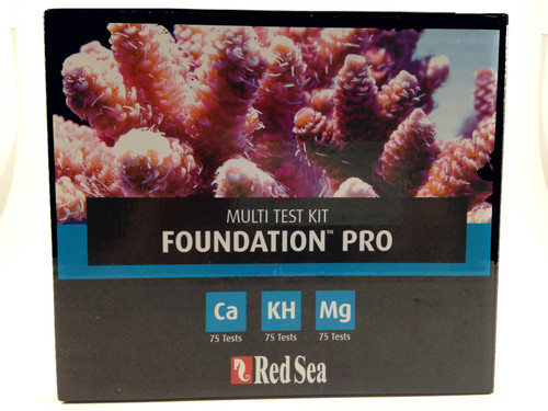 Red Sea Multi Test Kit Calcium, Magnesium, Alkalinity