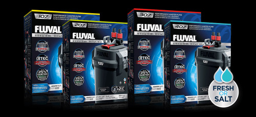 Fluval 07 Canister Filter Series