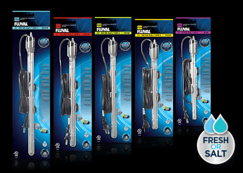 "Fluval ""M"" Series Aquarium Heaters 50W - 300W"