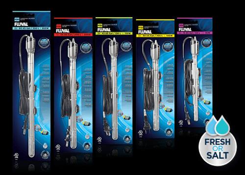 """Fluval """"M"""" Series Aquarium Heaters 50W - 300W"""