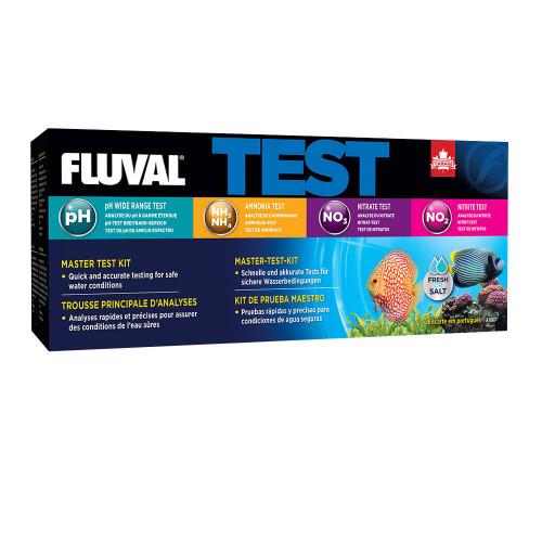 Fluval Master Test Kit - pH, Ammonia, Nitrate, Nitrite