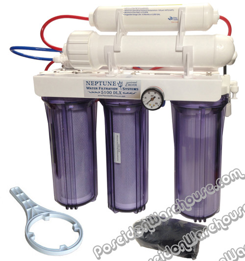 Neptune 5-Stage Reverse Osmosis Water Filtration Unit