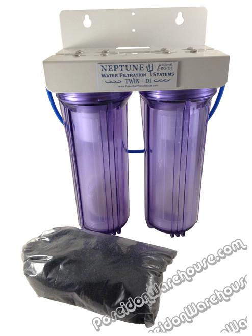 Neptune Twin DI De-Ionization Water Filtration Unit