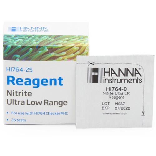 Hanna HI764-25 Marine Nitrite Ultra Low Range Checker HC Reagents
