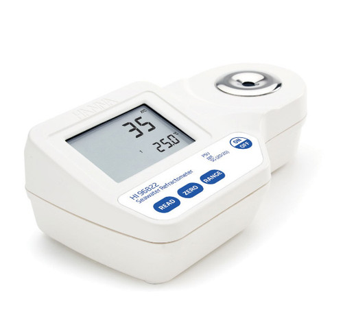 Hanna Digital Refractometer for Seawater Analysis