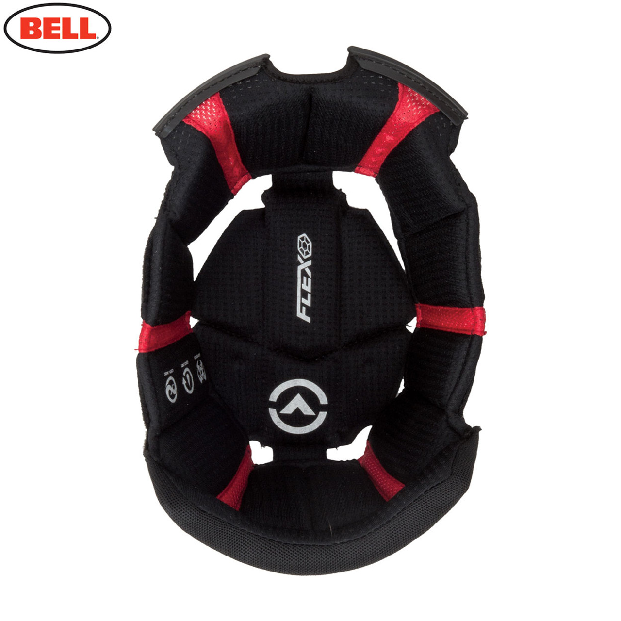 Bell Race//Pro Star Cheek Pads Triple Density,45mm