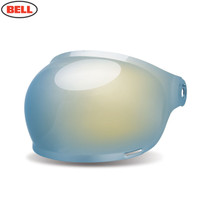 Bell Replacement Bullitt Bubble Visor (Black Tabs) Gold Iridium