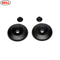 Bell Replacement MX-9 Adv Hinge Pivot Plate Cover Black (2pc)