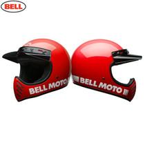 Bell 2020 Cruiser Moto 3 Adult Helmet (Classic Red)
