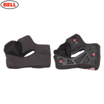 Bell Replacement Star X-Static Cheek Pads (Black) - Various Sizes