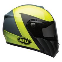 Bell 2020 Street SRT Modular Adult Helmet (Presence Grey/Hi-Viz Yellow)