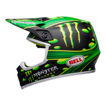 Bell 2020 MX-9 MIPS Adult Helmet (Mcgrath Showtime Black/Green)