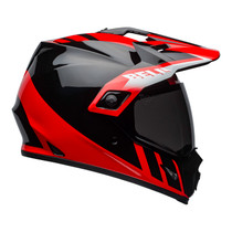 Bell 2020 MX-9 Adventure Mips Adult Helmet (Dash Black/Red/White)