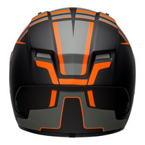 Bell 2020 Street Qualifier DLX MIPS Adult Helmet (Torque Matte Black/Orange)