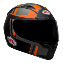 Bell 2020 Street Qualifier DLX MIPS Adult Helmet (Torque Matte Black/Orange)
