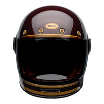 Bell 2020 Cruiser Bullitt Carbon Adult Helmet (Transend Candy Red/Gold)