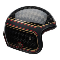Bell Crusier 2020 Custom 500 Carbon Adult Helmet (RSD Checkmate M/G Black/Gold)