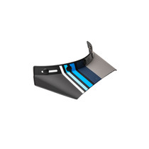 Bell Replacement Moto 3 550 Visor (Stripes Black/Blue)