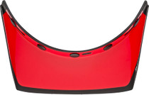 Bell Replacement Moto 3 550 Visor (Fasthouse Matte/Gloss Black/White/Red)
