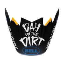 Bell Replacement Moto 9 Flex Peak (Fasthouse Day in the Dirt Blue)