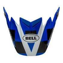 Bell Replacement Moto 9 Flex Peak (Fasthouse Day In The Dirt Blue/White)