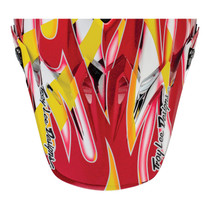 Bell Replacement Moto 9 Mips Peak (McGrath Replica Yellow/Chrome/Red)