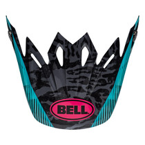 Bell Replacement Moto 9 Peak (Chief Black/Pink/Blue)