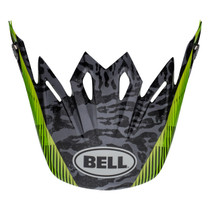 Bell Replacement Moto 9 Peak (Chief Black/White/Green)