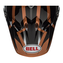 Bell Replacement Moto 9 Peak (District Black/Copper)
