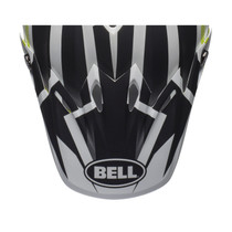 Bell Replacement Moto 9 Peak (District White/Black/Green)