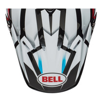 Bell Replacement Moto 9 Peak (District White/Black/Red)