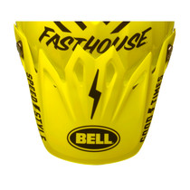 Bell Replacement Moto 9 Peak (Fasthouse Black/Flo Yellow)