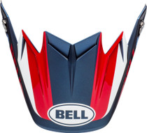 Bell Replacement Moto-9 Flex Peak (Division M/G White/Blue/Red)